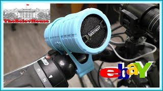 """Распаковка и обзор портативной bluetooth-колонки """"Gaciron B07-BT"""" на eBay"""