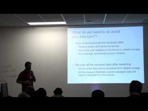 ClearStory use case + HA Spark Streaming - Bay Area Spark User MeetUp