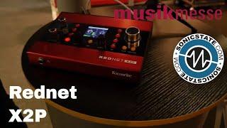 MESSE 18 Focusrite Pro  Rednet X2P Dante interface