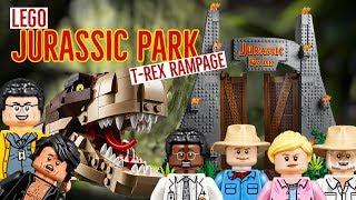 Official Images! LEGO Jurassic Park: T. rex Rampage Set 75936