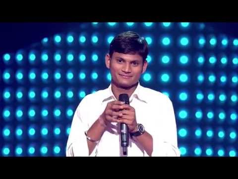 The Voice India - Dushyant Rupolia Performance in Blind Auditions