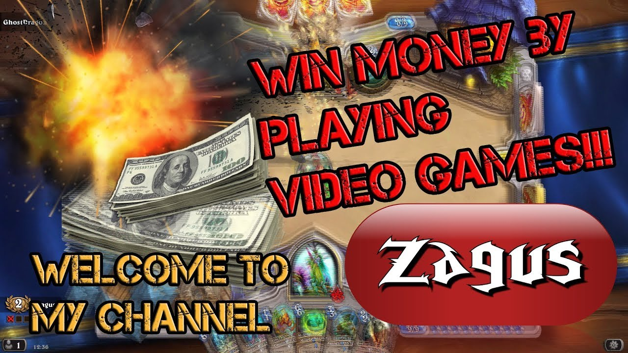 Win Money By Playing Games
