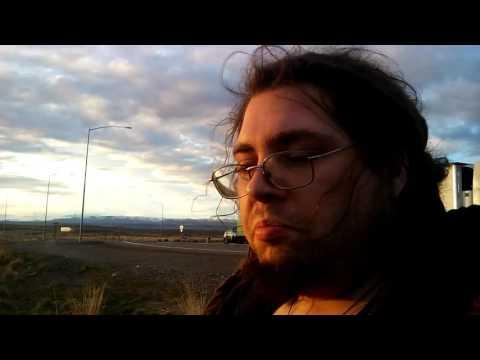 Schoolbus trip across America. Day 1, vlog 2. Idaho