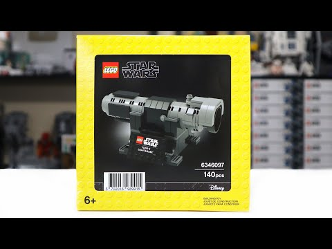 LEGO Star Wars 6346097 YODA'S LIGHTSABER Review! (2020)