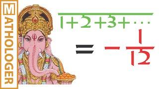 Ramanujan: Making sense of 1+2+3+... = -1/12 and Co.