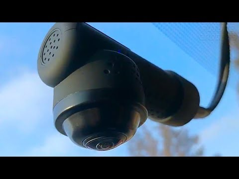 Yakola Y9 WiFi DashCam Full HD2160P 360° Panorama Review And Installation