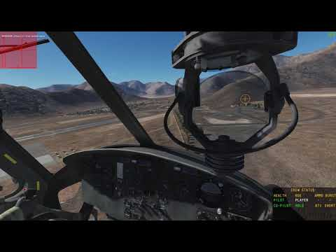 DCS World 2.5 - UH-1H Huey - Airfield attack