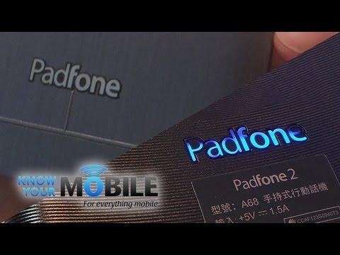 Asus Padfone 2 vs Padfone Infinity