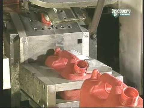 Como se hacen los bidones de plastico youtube for Como se fabrica el marmol