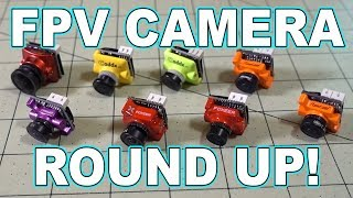 FPV Camera Round Up #1 (DIY Side-by-Side) 📷