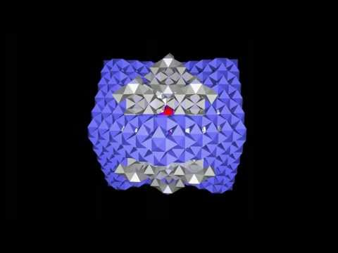 Truncated Octahedral core embeded in a Rhombic Dodecahedron