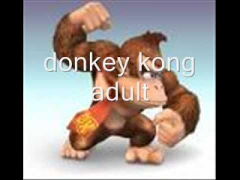 Donkey Kong Characters