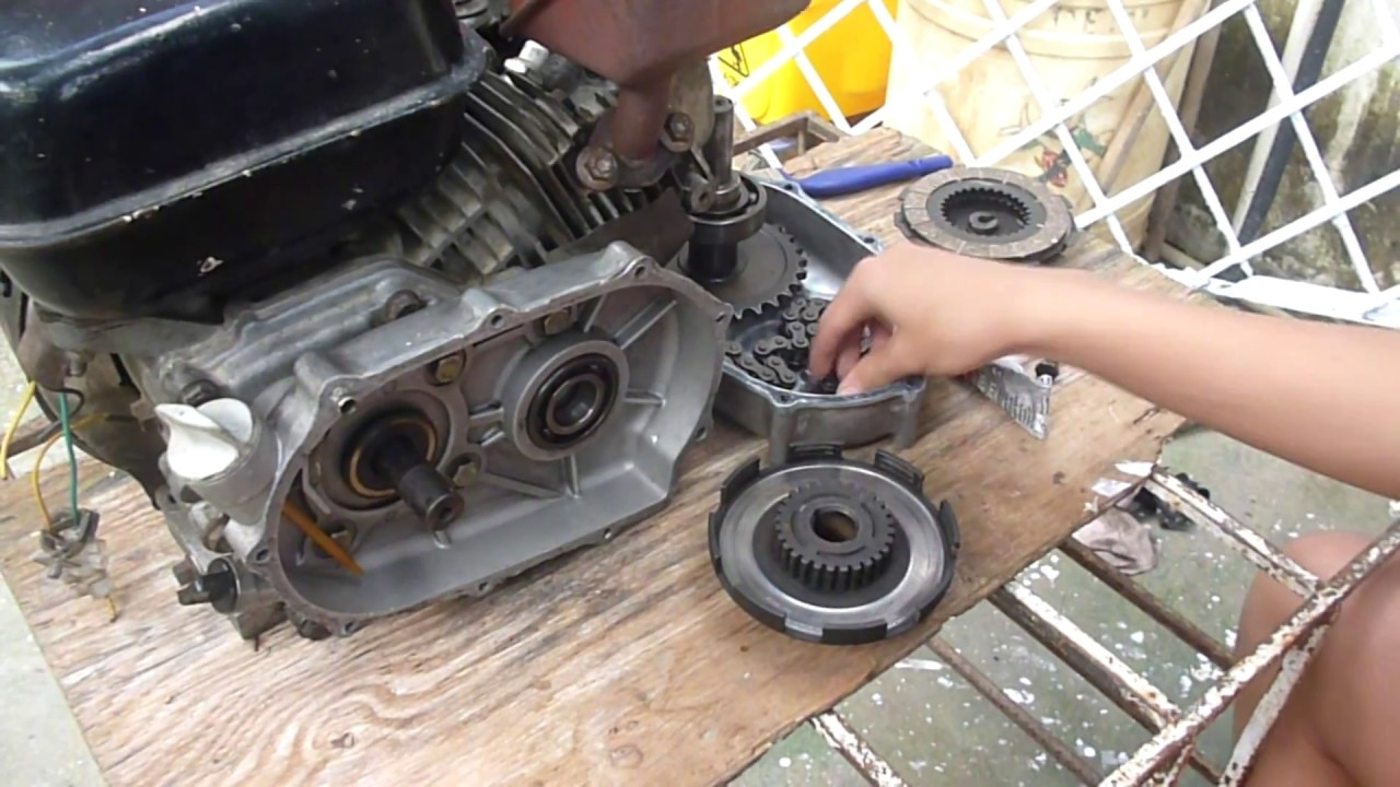Como Armar Caja De Embrague De Go Kart Motor Gx 160 5 5
