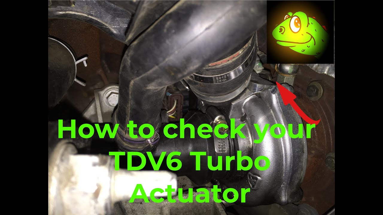 How To Check Your Turbo Actuator - Tdv6 Range Rover Sport