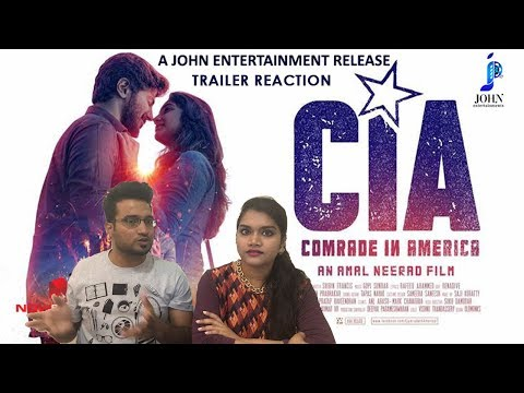Comrade In America (CIA) | 50 Days Trailer Reaction Review by Bollywood Audience | Dulquer Salmaan