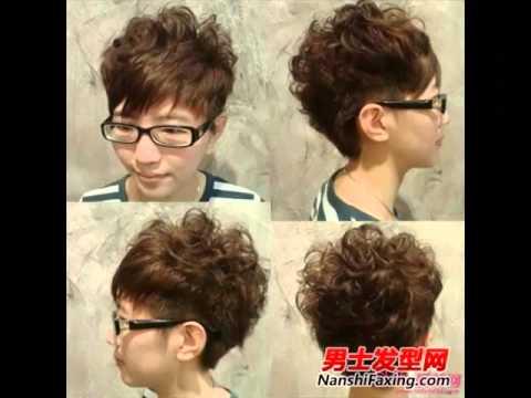 Модные прически для парней в Китае