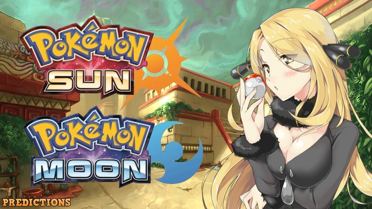 pokemon sun and moon: 5 major predictions! - youtube