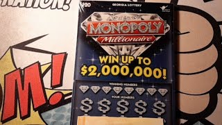Monopoly millionaire! Thanks Scratching for Life!