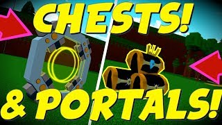 HOW TO GET NEW CHESTS & PORTALS!! | Roblox | Build a Boat for Treasure