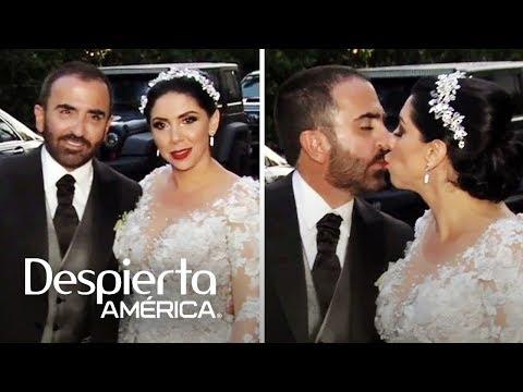 Todos los detalles de la tercera boda de Vicente Fernández Jr.