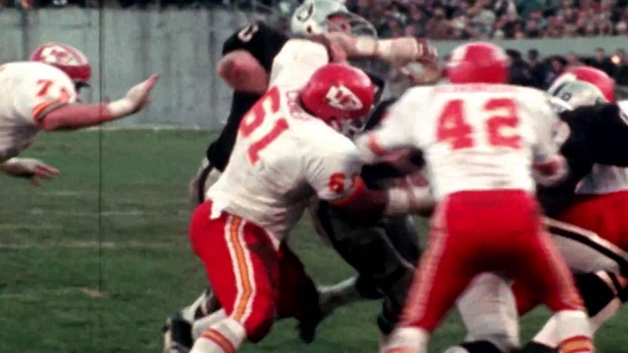 new arrivals 48e9c 94f09 The Origin of the Chiefs and Raiders Rivalry - YouTube