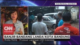 Download Video Dahsyatnya Banjir Bandang Landa Bandung, Mobil-mobil Terseret Air Bah ; Live Report MP3 3GP MP4