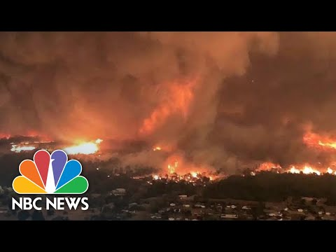See Deadly Fire Tornado Caught On Camera!