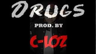Roach Gigz - Drugs OFFICIAL INSTRUMENTAL ( PROD. C-LOZ )
