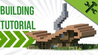Minecraft Tutorial: How To Build an EASY Quirky House!