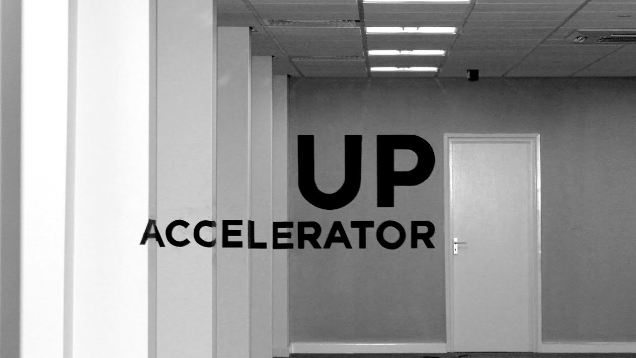Speed Art | UP Accelerator [Anamorphic Typography Wall ...