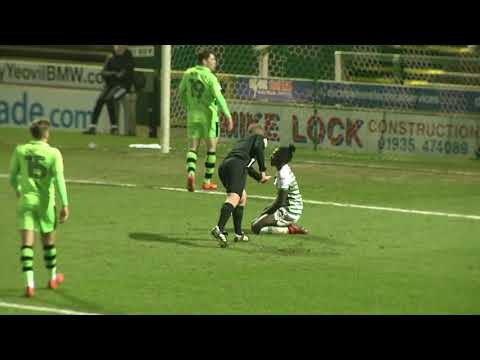 Highlights | Yeovil Town 2-0 Forest Green Rovers