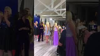 Ира Пинчук поймала букет невесты