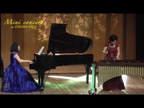 鈴木あさみ(マリンバ)、杉谷真知子(ピアノ)、ウィリアムテル序曲