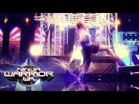 Ninja Warrior UK 2016 Ultimate Splashdown Compilation | Ninja Warrior UK