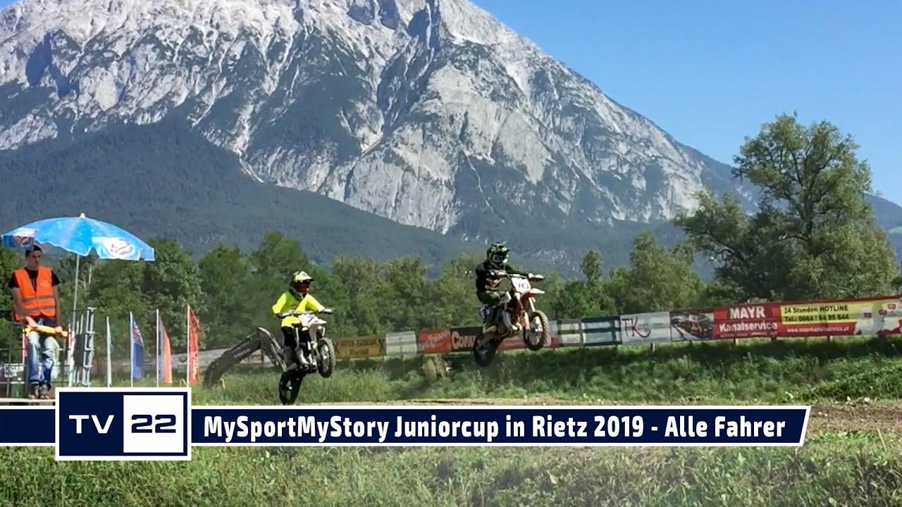 Alle Fahrer des MySportMyStory Motocross Junior Cup in Rietz 2019