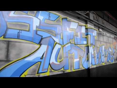 The Box:Crossfit Autonomy Graffiti by Muralesco