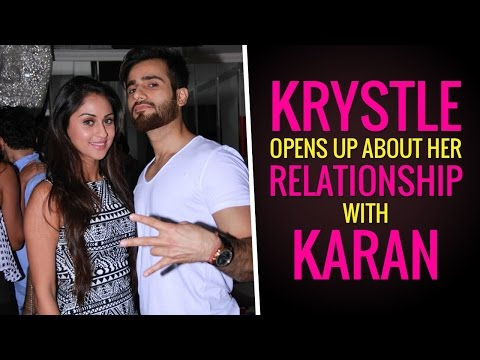 Krystle D'souza's candid confessions on her relationship with Karan Tacker