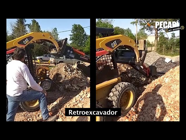 Retroexcavador Fijo | Oscar Ceschi de Gobernador Crespo | Noviembre 2017