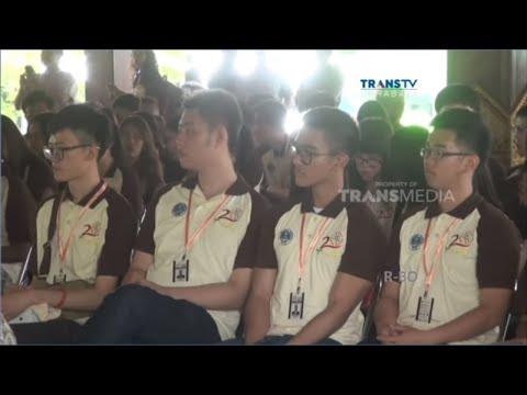 Kegiatan KKN Putera Presiden Dijaga Ketat Di Mojokerto, Jawa Timur