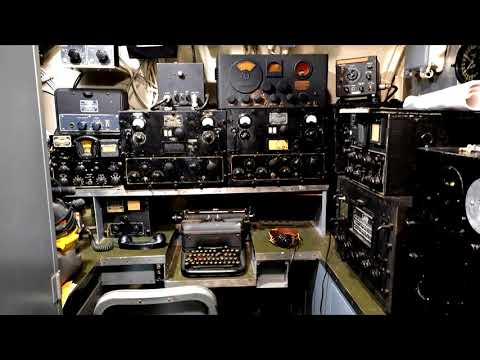 WW2 Submarine Radio Room