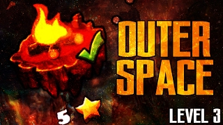 FIRE GAUNTLET OUTERSPACE 100 Complete LEVEL 3 GEOMETRY DASH 2 1