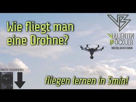 🚁Wie fliegt man eine Drohne?🚁 - fliegen lernen in 5 Minuten!