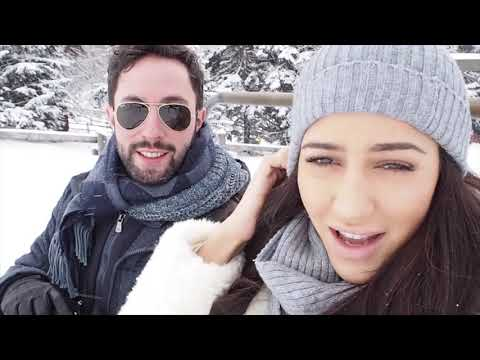 Snow Storm And Helicopter Ride in St.Moritz | Tamara Kalinic