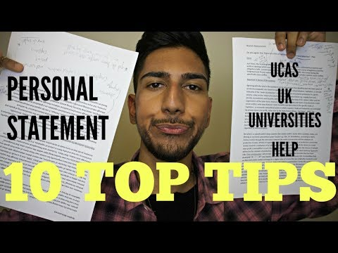 How to Write a PERSONAL STATEMENT for Top UK UNIVERSITIES Mp3
