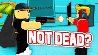 HOW TO NEVER DIE AS MURDERER!! *INSANE* (Roblox Murder Mystery X)