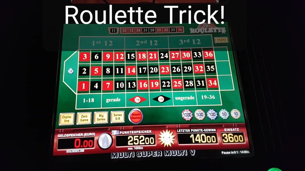 Merkur Magie Roulette Trick