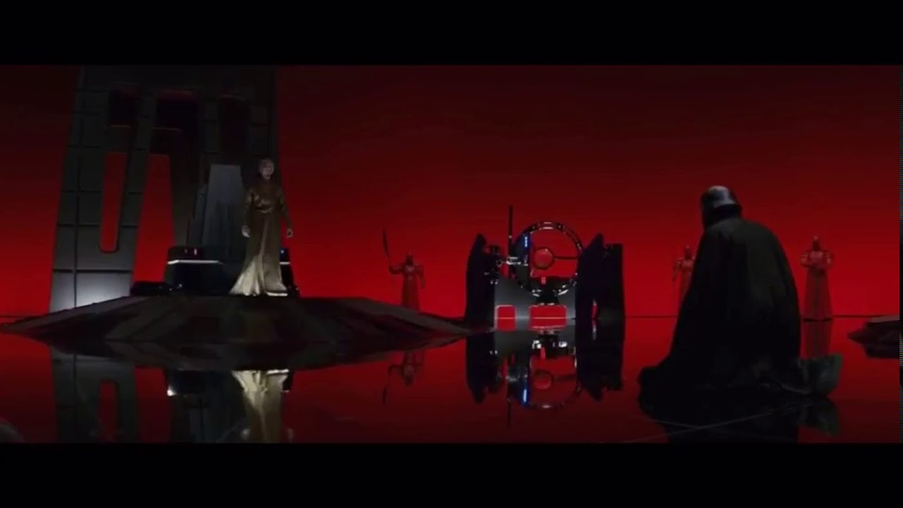 A New Vader Snoke And Kylo Ren Scene The Last Jedi