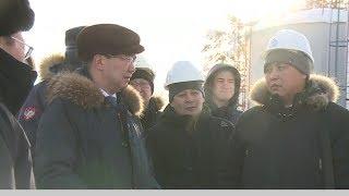 Айсен Николаев посетил с рабочим визитом Нижний Бестях