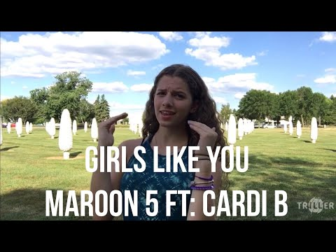 Girls Like You- Maroon 5 featuring Cardi B (ASL/PSE COVER)