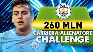 PIU' DI 260 MILIONI SPESI!!! CARRIERA ALLENATORE FIFA 18 - SPENDERE PIU' SOLDI POSSIBILI CHALLENGE!!